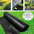 Heavy Duty Weed Control Fabric Ground Cover Membrane Cover Sheet with 50PCS Pegs