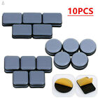 10Pcs Self-Adhesive Furniture Leg Pads Covers Table Glide Corrosion Resistance