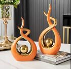 Home / Office Decoration Accessories Ceramic Abstract Sculpture Handicraft