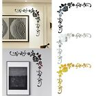 Mirror Flower Removable Wall Sticker Art Acrylic Mural Decals Wall Home Decor Us