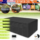 Waterproof Furniture Cover Garden Patio Rain Uv Table Protector Chair Outdoor Au