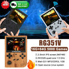 Anbernic Rg351v Retro Game Console Handheld Video Game Player About 5000 Games