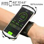Cell Phone Sports WristBand  180° Rotating Holder Cover For Running Jogging Gym