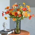 Artificial Poppies Flowers Gorgeous Fake Poppies Flowers Home Decor Photography