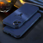 For iPhone 12 Pro Max 11 7 8+ XS XR Leather Silicone Matte Soft Phone Case Cover