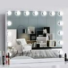 Hollywood Mirror Dressing Table Mirror With 15 LED Lights Vanity Makeup Desk