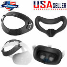 Soft TPU Head Cushion Pad+Eye Face Mask Cover Case for Oculus Quest 2 VR Headset