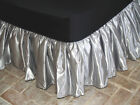Queen Bridal Satin Bedskirt
