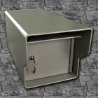 """Fort Knox Locking Mailbox ~1/4"""" STEEL~ Extreme Security & Heavy Duty to last"""