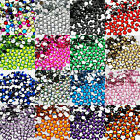 Rhinestone 3mm Acrylic Flat Back Diamond Gem Nail Art Card Craft Sparkle Tip New