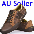 MERRELL STERLING CLAY MENS CASUAL SHOES BROWN LEATHER
