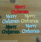 Word Die Cuts - Merry Christmas - Scrapbooking & Cards