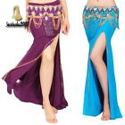 【GD】 sexy belly dance costume split skirt 7 color chs