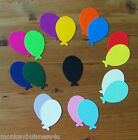 Birthday Die Cuts - Oval Balloons - Party Invitations
