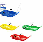 Deluxe SNOW Sledge, Toboggan, with Brakes, Great Winter Fun -Even Make Turns!