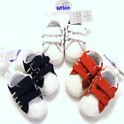 Baby Velcro Trainers White, Navy Blue or Red 3 Sizes 6-9, 9-12 or 12-15 Months