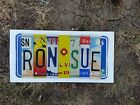 EMBOSSED License Plate Letters Great Crafts & Signs Letter MOST COLORFUL variety