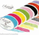 50mm x 20M Organza Eleganza Web Ribbon 17 Colours Available *FREE UK POSTAGE*