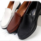 New Mens Casual Dress Leather Shoes Loafers Slip On Shoe Deluxe Handmade Formal