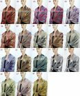 New Pashmina Scarf Shawl Wrap Cape Cashmere Silk Wool More Design & Color 56s