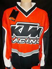 New KTM Motocross Jersey 4 Sizes Polyester KTM MX Shirt for Dirt or Casual Wear