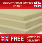"5FT KINGSIZE MEMORY FOAM MATTRESS TOPPER 1"", 2"", 3"", 4"" USE ON ANY BED"