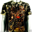 Survivor T-Shirt Biker Rock Tattoo S56 Sz S M L XL XXL Rider Motorcycle Street