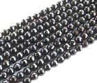 "black Onyx round faceted Beads 15"" 6mm 8mm 10mm 12mm 14mm 16mm 18mm 20mm"