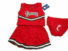 CINCINNATI BEARCATS 3-PIECE TODDLER CHEERLEADER OUTFIT NEW