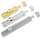 "Surface Sliding Bolt Door Slide Lock Catch Heavy Duty Barrel Bolts 4"" 6"" 8"""