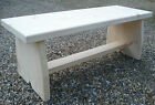 "Chunky Rustic Bench, 17"" seating Kitchen, Dinig room seating style #2"