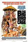BIG BIRD CAGE Movie Poster 1972 Pam Grier Exploitation Sex XXX