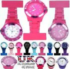 Nurses Watch Silicone & Rubberised Plastic Digital & Analogue Fob Watch