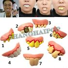 Novelty Teeth Halloween Party Goofy Dummies Fancy Dress Buck Fake Trick Joke Fun
