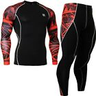 FIXGEAR CPD-SET-B2 Skin tight Compression Base layer shirts & leggings MMA Gym