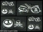 CUTE & UNIQUE SKULL & CROSS BONE PRINT SILK FEEL SLEEPING EYE MASK COVER PATCH