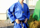 TKD TaeKwonDo uniforms uniform MASTER DOBOK BLUE+BLACK BELT Kukkiwon