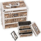 Leopard 3 dettachable Boxes Makeup Train Case E3333 E Series Sunrise Top Part