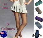 Quality Coloured Tights 15 den Sheer PANTYHOSE Fine Stockings