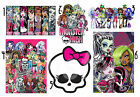 6 MONSTER HIGH IRON ON T-SHIRT FABRIC TRANSFER A4 FRANKIE STEIN LAGOONA BLUE lot