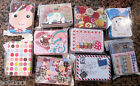 Novelty Cute Collectable Tin Buttons Cards Earring Box Caddy Tobacco 10 Designs