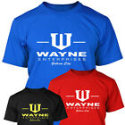 BATMAN Bruce Wayne Enterprises Mens T SHIRT  - S - XXXL - The Dark Knight Rises