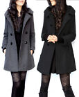 2012 NEW Warm Winter Thick Winter Mid-Long WoolBlend Jacket Coat