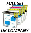 4 COMPATIBLE INK CARTRIDGES FOR HP PRINTERS HP88XL, HP10 & HP11 BLACK & COLOUR