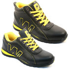 MENS SAFETY TRAINERS SHOES BOOTS WORK STEEL TOE CAP HIKER ANKLE SIZE 6-13UK NEW