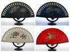 Spanish flamenco Brisé  style wooden fretwork hand fan - many colours available