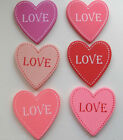 Chic Shabby Wooden Heart Fridge Magnet Decorative Heart 6 Designs To Choose From