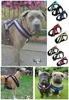 Trixie Soft Padded Fabric  Dog Harness All Sizes Black Red Aqua Blue Lilac