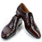 New Jurdan Mens Brown Leather Dress Oxfords Shoes Novamall
