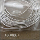 "Silver Plated French Wire Bullion Thread Cord Cover Protector Total 70"" 5'10"""